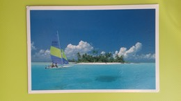 Cartolina MALDIVE - ...a Holiday Makers Dream - Viaggiata - Postcard - Un Sogno Per I Turisti - Maldives