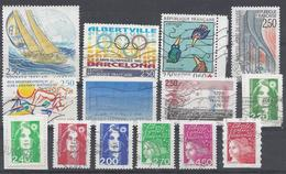 Frankreich Yv 2760 2779 Mix Set Stamps Of 1992 1993 France Francia Frankrijk Small Selection Of Fine Used 2221 - Frankreich