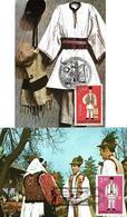 1981 - FOLK COSTUMES (DRESSES) - Maximumkarten (MC)