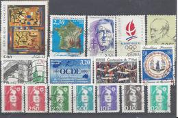 Frankreich Yv 2672 2673 Mix Set Stamps Of 1990 France Francia Frankrijk Small Selection Of Fine Used 2225 - Frankreich