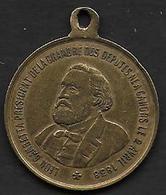 Gambetta Président De La Chambre Des Députés - Concours Régional De Cahors 1881 - Unclassified