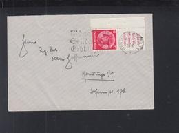 Dt. Reich Eckrand ZD Auf Brief Berlin 1933 - Briefe U. Dokumente