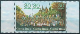 Costa Rica - 1997 - Yt 621/623 - Procession Religieuse - ** - Costa Rica