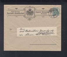 Dt. Reich Brief Speiseöl-Gesellschaft Schneider 1903 - Deutschland