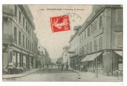 20650  CPA  MONTBELIARD  : Faubourg De Besançon ! 1908  !  ( Pas Trop Courante  ! ) - Montbéliard