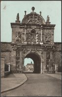 Citadel Gateway, Plymouth, Devon, 1904 - ETW Dennis Postcard - Plymouth