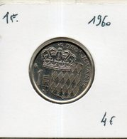 Monaco. 1 Franc 1960 - Monaco