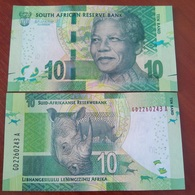 South Africa - 10 Rand 2015 UNC Mandela Ukr-OP - Suráfrica