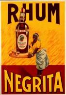 Publicité  -  Rhum - Négrita - SC73-2  - R/V - Werbepostkarten