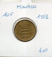 Monaco. 10 Francs 1951 - Monaco