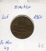 Monaco. 20 Francs 1950 - Monaco