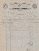 Givonne (Ardennes) - Poncin Léonard - 1875 - Platinerie & Martinets Des Claynées - 1800 – 1899