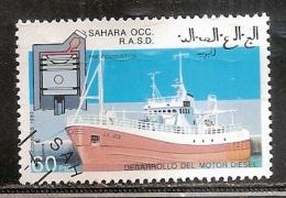 SAHARA OCCIDENTAL   OBLITERE - Timbres