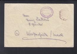 Brief 1945 Birkenwerder B. Berlin Gebühr Bezahlt - Sowjetische Zone (SBZ)