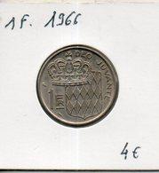 Monaco. 1 Franc 1966 - Monaco