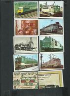 """Collection """"La Vie Du Rail"""" L'histoire Des Chemins De Fer. Lot De 21 Images - Vieux Papiers"""