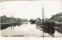 Louvain - Le Canal De Malines - Leuven