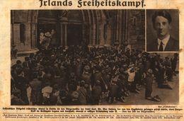 Irlands Freiheitskampf /Druck,entnommen Aus Zeitschrift /1920 - Books, Magazines, Comics