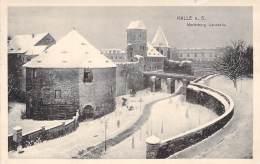 Halle A.S. S/w Gel.1916 Moritzburg Landseite - Halle (Saale)
