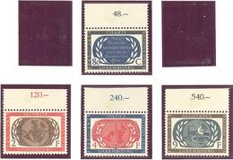 Luxembourg : Yvert N° 496/499**; MNH; Le Feuillet Cote 16.00€ - Luxembourg