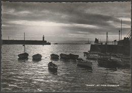Dawn, St Ives Harbour, Cornwall, 1957 - Harvey Barton RP Postcard - St.Ives