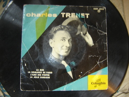 78 Tours Charles Trenet La Mer Romance De Paris - 78 Rpm - Gramophone Records