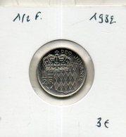 Monaco. 1/2 Franc 1982 - Monaco