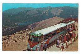 20659   CPA  COG TRAIN  At Summit Terminal Pikes Peak  , Colorado !! 1967 ,  ACHAT DIRECT !! - Etats-Unis