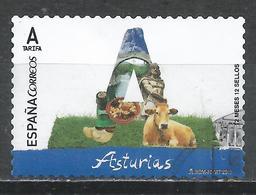 Spain 2017. Scott #4166 (U) Abbreviation Of Province, ''A'' (Asturias) * - 1931-Aujourd'hui: II. République - ....Juan Carlos I