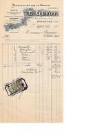 91 - ESSONNES - E.GUYOT - Vins Et Spiritueux , Fabrique De Liqueurs Et Sirops ( 27,1 Cm X 14 Cm ) - 1900 – 1949