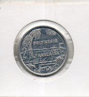 Polynésie Française. 2 Francs 1991 - French Polynesia