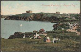 Regatta Day, Newquay Headland, Cornwall, 1909 - Valentine's Postcard - Newquay