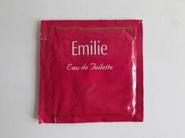 échantillon Pochette Parfumée Fragonard Emilie - Perfume Samples (testers)
