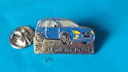 Pin's  OPEL  CORSA  St DIE DES VOSGES - Opel