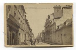 Cherbourg - Rue Emmanuel-Liais - CPA De 1908 - Cherbourg