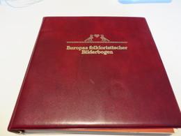 EUROPAS FOLKLORISTISCHER BILDERBOGEN  Posten  MARKEN  /  FDC  /  SONDERSACHEN  Im  RIMGBINDER - Timbres