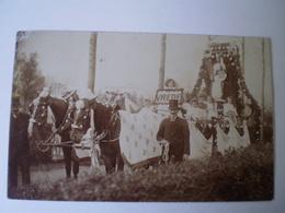 Beek En Donk (N-Br.) FOTOKAART (onbekend Waar) Vredes Optocht ?  100 Jarig Bestaan 1913 // Gelopen 29- VII - 1914 - Nederland