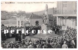 55  Saint Mihiel  Cérémonie Patriotique Du Monument Du Souvenir Français - Saint Mihiel