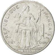 Nouvelle-Calédonie, 2 Francs, 2005, Paris, TTB+, Aluminium, KM:14 - New Caledonia
