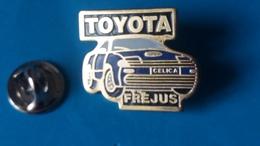 Pin's  TOYOTA  Frejus  Celica - Toyota