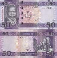 Sudan South - 50 Pounds 2017 UNC Ukr-OP - Soudan