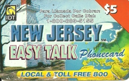 IDT: UTA Easy Talk - New Jersey 09.2003 - Sonstige