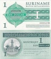 Suriname - 1 Dollar 2004 UNC Ukr-OP - Suriname