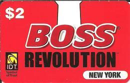 IDT: Boss - Revolution New York - Vereinigte Staaten