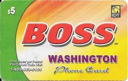 IDT: Boss - Washington 03.2007 - Vereinigte Staaten