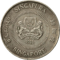 Singapour, 10 Cents, 1985, British Royal Mint, TTB, Copper-nickel, KM:51 - Singapour