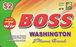 IDT: UTA Boss - Washington 08.2008 - Sonstige