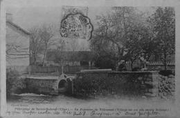 Ste Solange : La Fontaine De Villemont - France