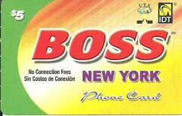 IDT: UTA Boss - New York 03.2011 - Sonstige