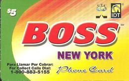 IDT: UTA Boss - New York 07.2009 - Sonstige